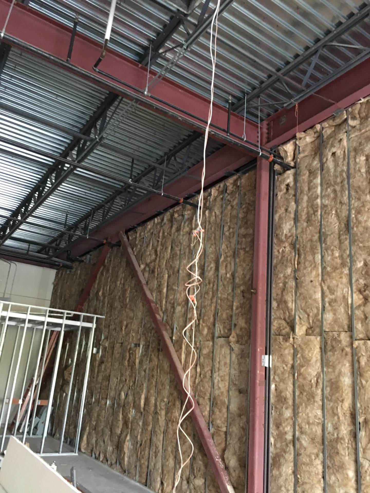 Thermal and sound batt insulation